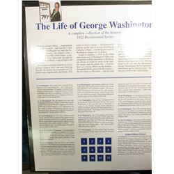 """The Life of George Washington"" Fleetwood Mint Stamp Portfolio."