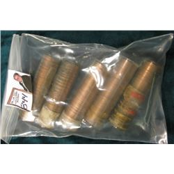 (5) Original Uncirculated Rolls of 1960 D Small Date Lincoln Cents, I never opened all of these, but