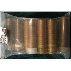 (10) Original Uncirculated Rolls of 1960 D Small Date Lincoln Cents, I never opened all of these, on
