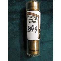 1944 P Original Gem BU Roll of Lincoln Cents in a plastic tube. CDN bid is $25 on my sheet.