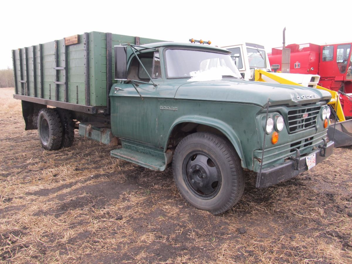 1964 Dodge 500 3 Ton Grain Truckreal Life On The 1949 1 Stake Bed Truck Image 2