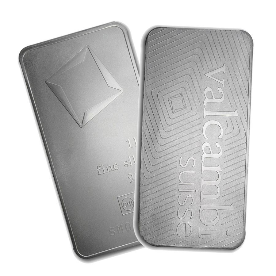 One Piece 1 Kilo 0 999 Fine Silver Bar Matte Finish