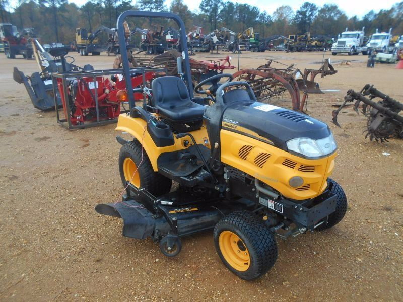 Riding Lawn Mower With Pto : Cub cadet yanmar sc riding lawn mower quot pth