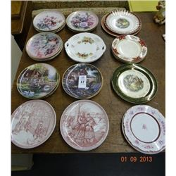 Lot of Collector Painted Plates - No Shipping