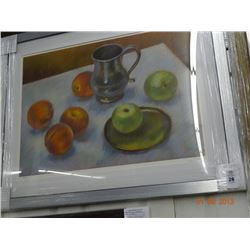 Framed Print Pewter Reflections