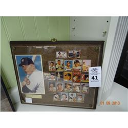 Mickey Mantle Plaque