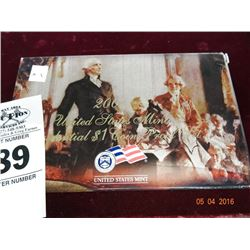 2007 US Mint Presidential $1 Coin Proof Set