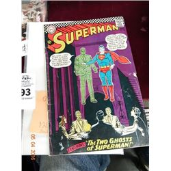 Vintage Superman Comic Book