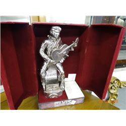 Silver Anniversary Elvis Decanter