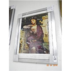 Framed Print Lesbia & Her Sparrow