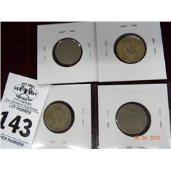 Pack of 4 V-Nickels