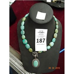 Necklace w/Pendant Marked .925