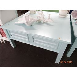 Baby Blue Coffee Table