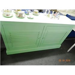 Mint Green Console