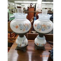 2 Hurricane Lamps - 2 Times the Money