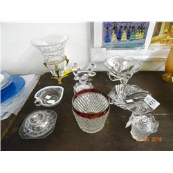 Lot of Crystal Vases - No Shipping