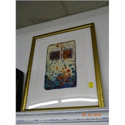 Abstract by David Dodsworth - COA attached in Back