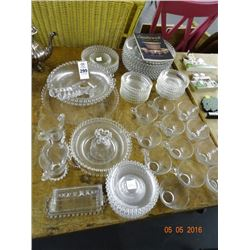 Lot of Candlewick Glassware - No Shipping