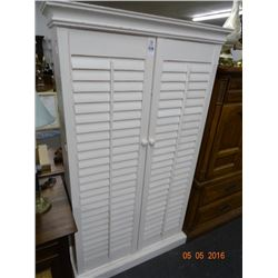 Louver Door Bookcase