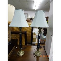 Candelstick Table Lamps (2)