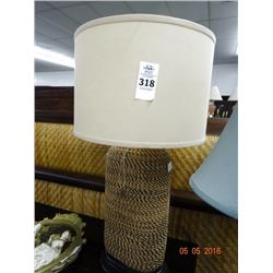 Braided Rope Table Lamps (2)