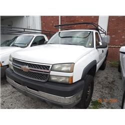 2005 Chevy Silverado 2500 HD Std. Cab Long Bed Pick Up