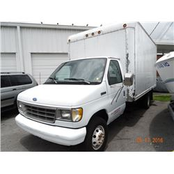 1993 Ford E350 Dsl. 16' Box Truck
