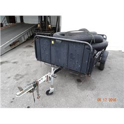 S/A 5' X 8' Stakebed Utility Trailer (No Title Required)