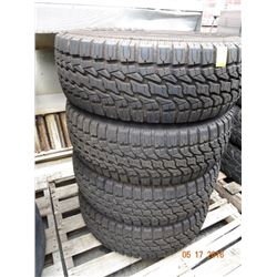 Zectex AT1000 31X10.50 R15 Lt Tires (4)