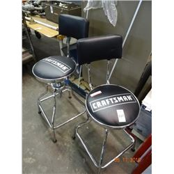 2 Craftsman Swivel Stools - 2 Times the Money