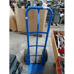 Blue Soft Tire Hand Truck