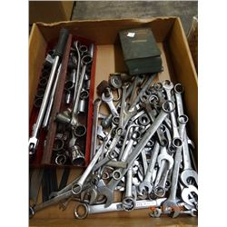 Flat Lot Craftsman Wrenches & Socket Set