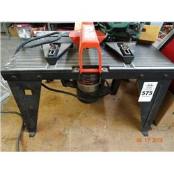 Router Table & Bench Grinder
