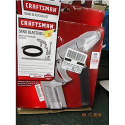 Craftsman Sandblasting Kit