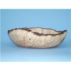 Maple Burl Oval by Dale Larson