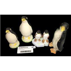 * Group of Four Fine China Penguins Inc. Denton England