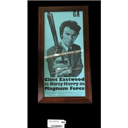 "* Vintage Clint Eastwood as ""Dirty Harry"" Movie Poster"