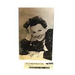 * Original Jean Simmons Signed Photo Picture