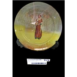 * Royal Doulton Seriesware Anne Page Character Plate