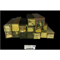 * Group of Antique Pianola Rolls In Boxes