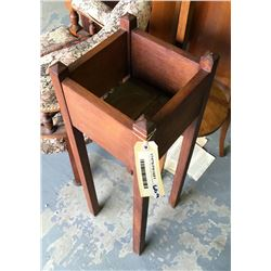 * Two Tier Oak Victorian Plant Stand