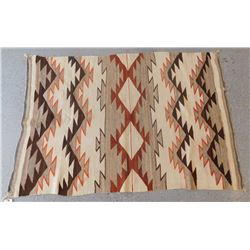 Rare Transitional Navajo Weaving