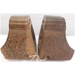Old Wooden Stirrups