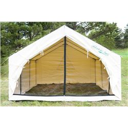 Mountain Wall Tent from Denver Tent & a Spruce Stove Package from Colorado Cylinder Stove