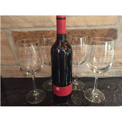 RMBS Wine Glasses with Wine