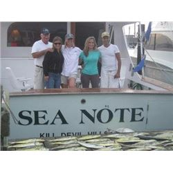 OUTER BANKS DEEP SEA FISHING TRIP FOR SIX