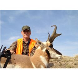 Wyoming Pronghorn Hunt for one hunter