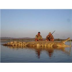 Crocodile Hunt with Discounted Cape Buffalo and Sable  Option for 2 Hunters