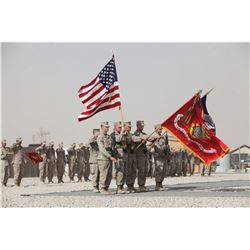 US Flag Flown during US Special Forces mission in Middle East