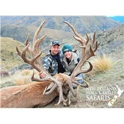 New Zealand Horn and Antler 1 to 4 Hunters $1000 credit per hunter ($4000 for 4 hunters)